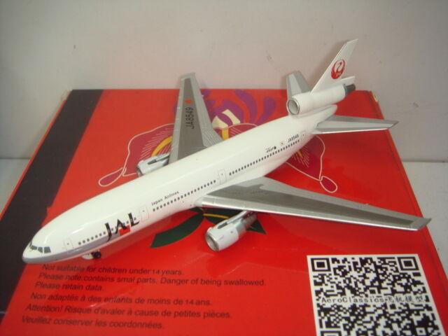 Aeroclassics 400 Japan Airlines JAL DC-10-40  1990s color    1 400 4be2c5