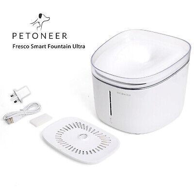 Devoted Petoneer Fresco Ultra Uv Pet Health Intelligent Smart Water Drinking Fountain Cat Supplies