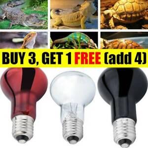 50-75-100W-UVA-UVB-Heat-Emitter-Lamp-Holder-Bulb-Light-Heater-Pet-Reptile-AR