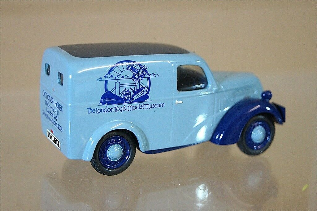 Somerville Modelos 1949 1949 1949 Fordson E494C 5CWT Furgoneta el Londres Juguete & Museo c94f25
