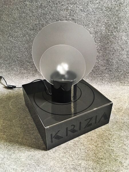 80s Krizia Vintage Table Lamp Design Modernariato Made In Italy Fashion Rafforza Tendini E Ossa