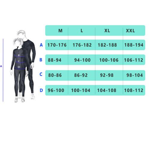 Herren Funktionsshirt Skiunterwäsche Snowboard langarm Thermo Unterhemd 3D Zone