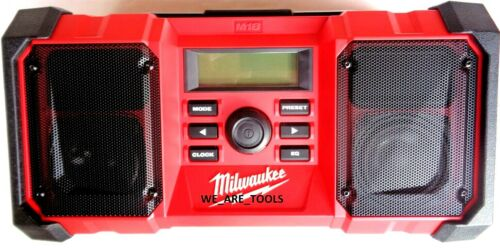 New Milwaukee 2890-20 Radio 18 Volt M18 Cordless /& Corded A//C W USB Port Charger