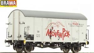 Brawa-h0-47929-wagons-GMS-30-034-Movenpick-034-de-la-DB-Neuf-neuf-dans-sa-boite