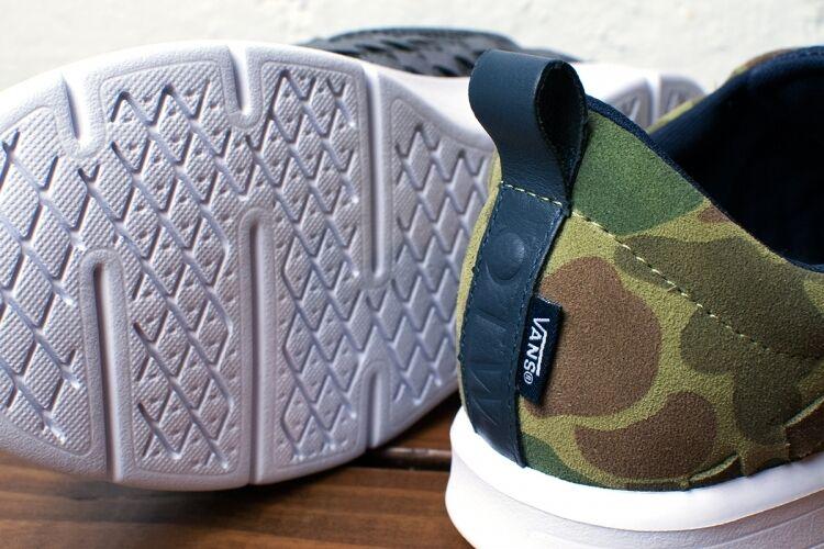 Vans OTW Tesella Camo Clash SZ Green Woven Off The Wall Skatboard SZ Clash 9.0-10.5 7e30d0
