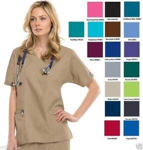 c602945f6d9 Cherokee Workwear Scrubs Women's V-Neck 3Pkt Top 4700 | NWT | 10 ...