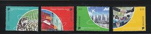 SINGAPORE-2013-GLOBALISATION-OF-SINGAPORE-COMP-SET-OF-4-STAMPS-MINT-MNH-UNUSED
