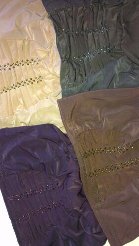 Bonnet cap Tube Hijab Chemo Under Scarf Cap Bonnet Abaya cape Black UK New 2018