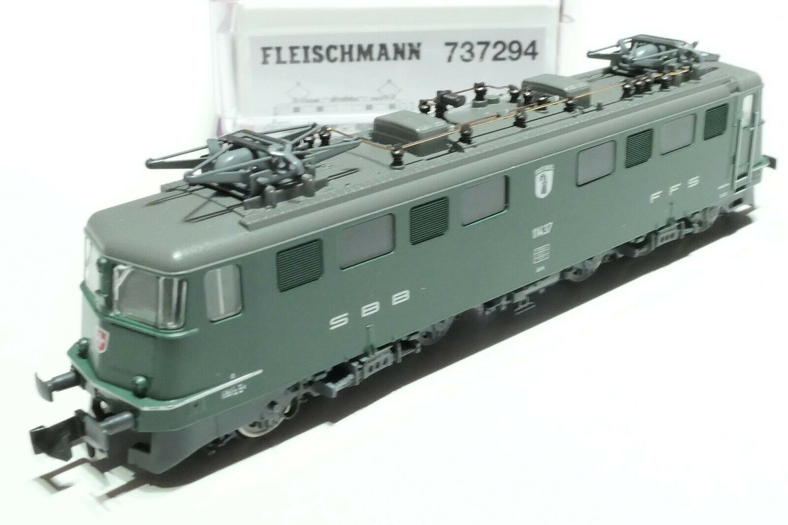 Fleischuomon N SBB Ae 66 11437 verde 737294 NUOVO OVP suono