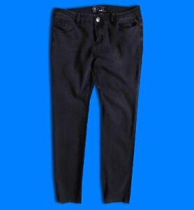 "100% Vrai New Look... 14/jambe 32""... Yesyes Slim Skinny Femme Jeans Stretch Pantalon Pantalon"