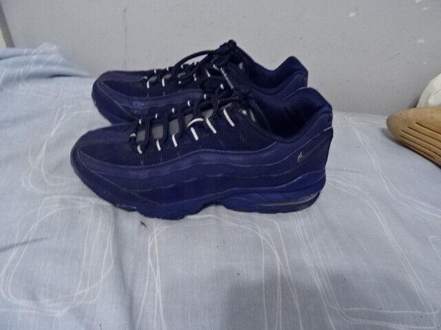 Mens nike airmax pelle pelle pelle blu   tessile lace-up scarpe ottime condizioni | Bel design  | Qualità Primacy  | A Buon Mercato  a83423