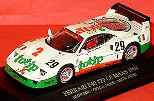 Ferrari F40 Le Mans 1994 Totip #29 Olofsson Della angelastri 1:43 IXO FER010