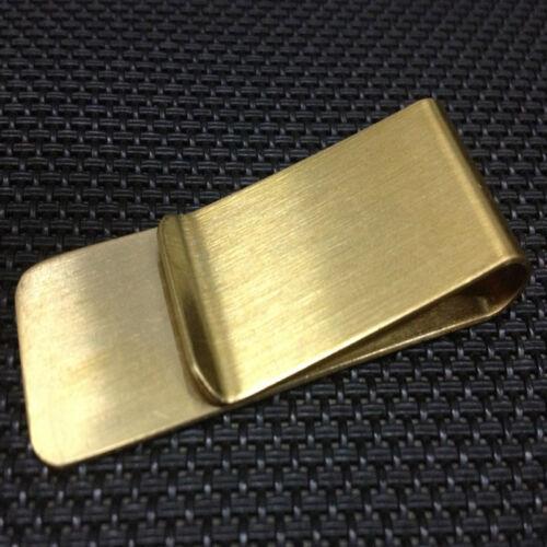Schmaler Geldscheinklammer Geldbörse Kreditkarteninhaber aus rostfreiem Stahl