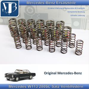 Original Mercedes-Benz W113 Pagode 280SL Satz Ventilfedern Motoren ...