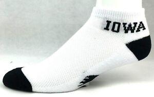 For-Bare-Feet-034-Money-034-No-Show-Ankle-Socks-Iowa-Hawkeyes