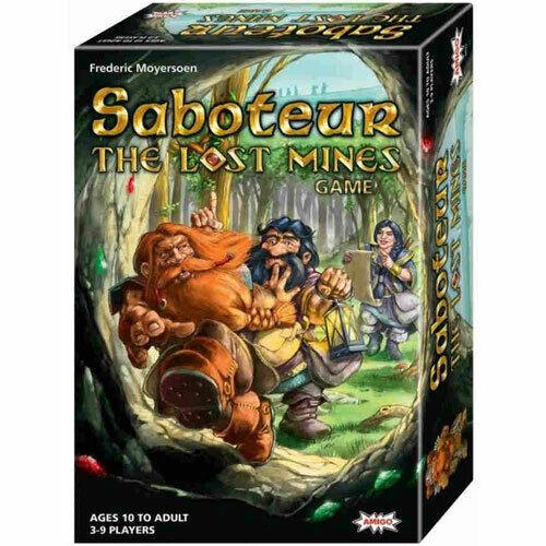 Amigo Games Saboteur The Lost Mines 18753 Ship for sale online