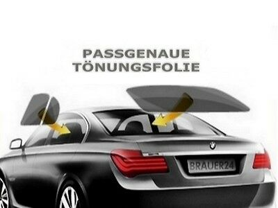 Passgenaue Tönungsfolie für Opel Zafira A 04/1999-06/2005