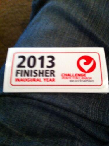 2013 Penticton Challenge Triathlon Finisher Sticker