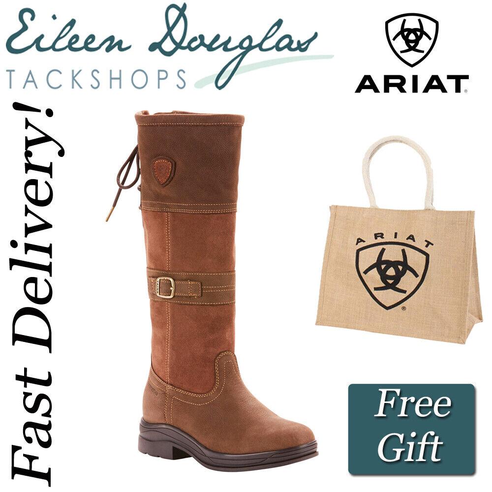 Ariat Langdale H2O Country Boot Ladies Waterproof Yard Walking Boots