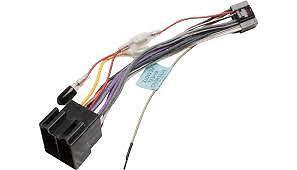 Jvc kd-g441 Modelo radio de coche estéreo 16 pin arnés de cableado Telar ISO Plomo Adaptador