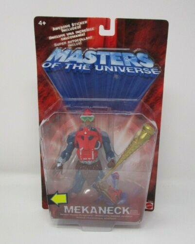 Mekaneck 2002 200x MASTERS OF THE UNIVERSE MOTU Mattel MOC