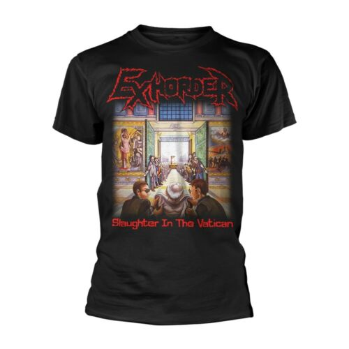 """EXHORDER /""""SLAUGHTER IN THE VATICAN /'T Shirt-Nouveau"""