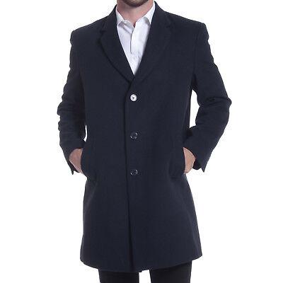 Alpine Swiss Luke Wool Mens Tailored 37 Walker Jacket Top Coat Car Coat Overcoat