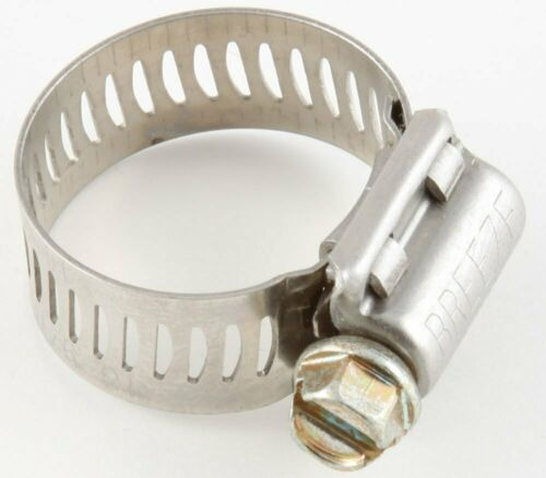"""1 5//16/""""-2 1//4/"""" Worm-Drive Hose Clamps SAE 28 pack of 10"""