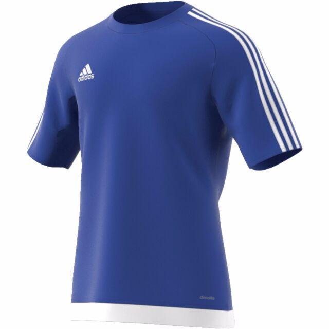 adidas Mens Estro 15 S s Teamwear Shirt Top Sports Training L  da17413ead8ed