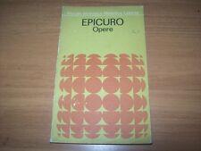 EPICURO-OPERE-PICCOLA BIBLIOTECA FILOSOFICA LATERZA-1967-N. 9