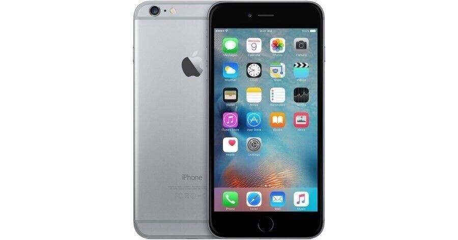 iPhone 6 Plus, GB 64, sort