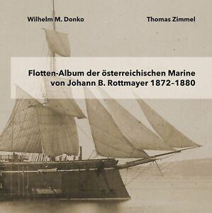 Flotten-Album-der-oesterreichischen-Marine-von-Johann-B-Rottmayer-1872-1880