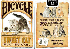 Bicycle Sweet Cat Playing Cards Deck Brand New Sealed