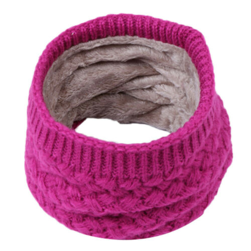 Baby Kids Boys Girls Autumn Winter Collar Scarf O Ring Neck Warm Knitted Scarves