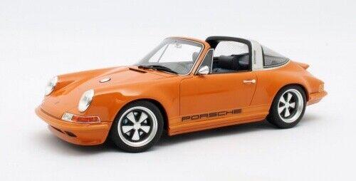 Singer Porsche 911 Targa-Orange 1:18 Cult scale models