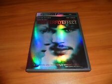 The Butterfly Effect (DVD, 2004, Widescreen Directors Cut) Ashton Kutcher Used