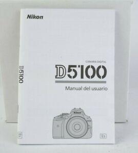 manual usuario nikon d5100