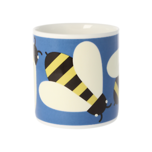 Orla-Kiely-Busy-Bee-Blue-Quite-Big-Large-China-Mug
