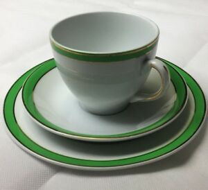 Vintage-Alfred-Meakin-Hotel-Ware-SELWYN-Set-Cups-Saucers-Duo-Trio-NEW