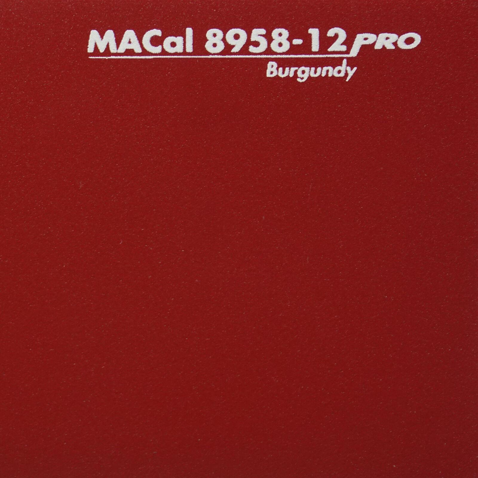 50 M ( m) m) m) decorativo autoadesivo, pellicola adesiva, anche Pellicola Adesiva Opaca Rosso Vinaccia b9d265