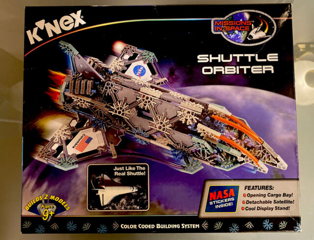 Knex - Shuttle Orbiter - 12018 - New - 371 pieces. Very Collectable!
