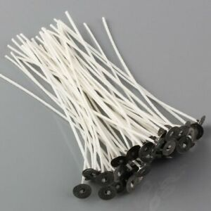 50pcs-Candle-Wicks-6-Inch-COTTON-Core-Candle-Making-Supplies-Pretabbed
