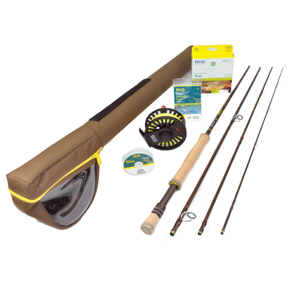 NEW REDINGTON PATH  II 890-4 9' WEIGHT 4 PIECE FRESHWATER FLY ROD REEL COMBO  leisure