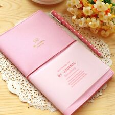 """""""My Journal"""" 1pc Planner Agenda Scheduler Monthly Lined Paper Study Notebook"""