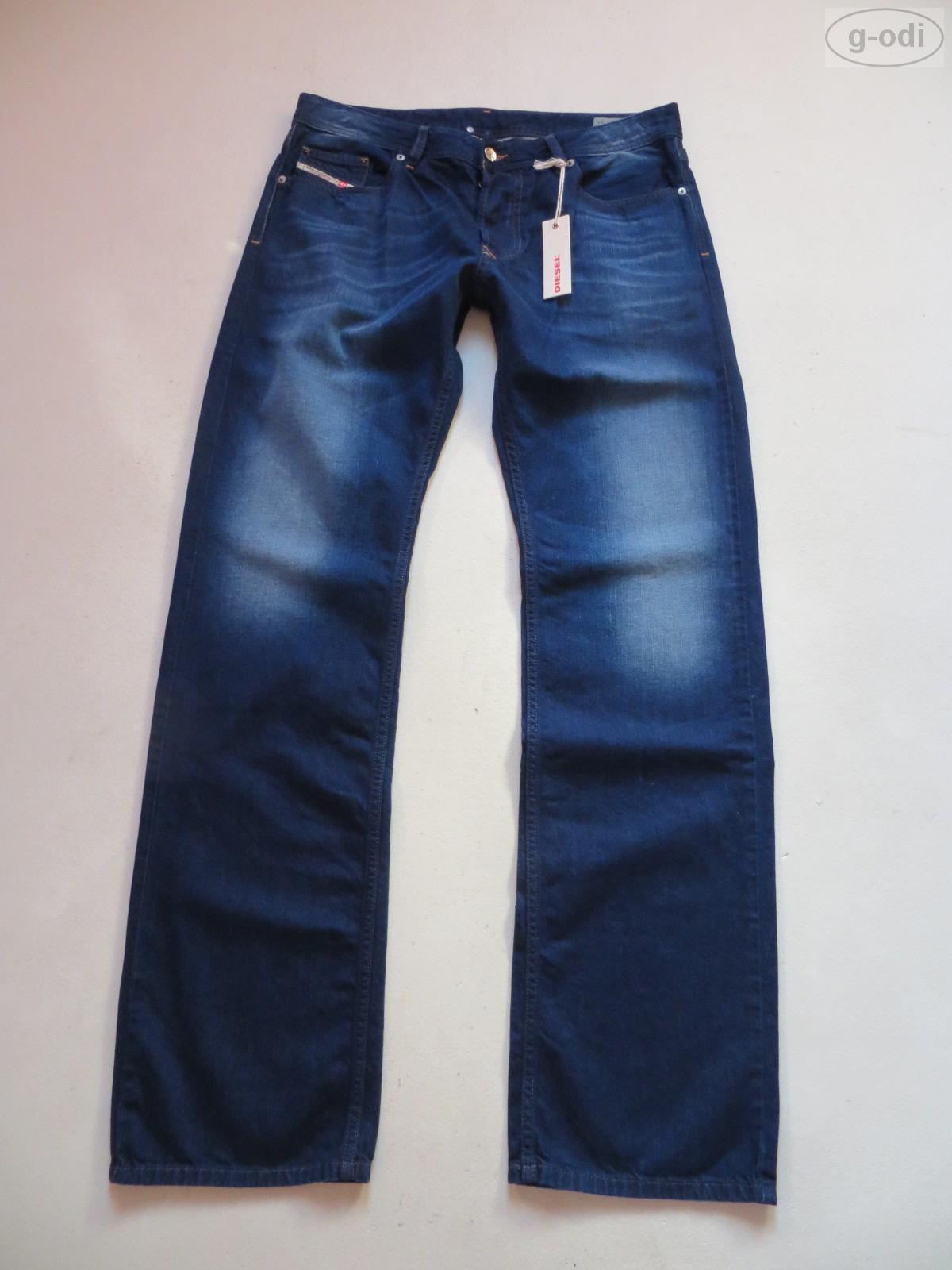 DIESEL Jeans Hose LARKEE Wash 0818N W 33  L 34 NEU   Dark Faded Denim bequem