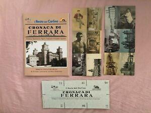 Resto del Carlino - Cronaca di Ferrara - Album con 90 figurine adesivi