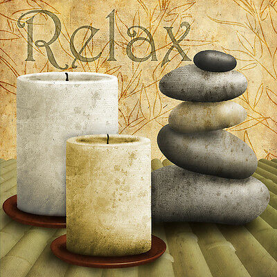 Zen Zone I Collections Art Poster Print, 12x12