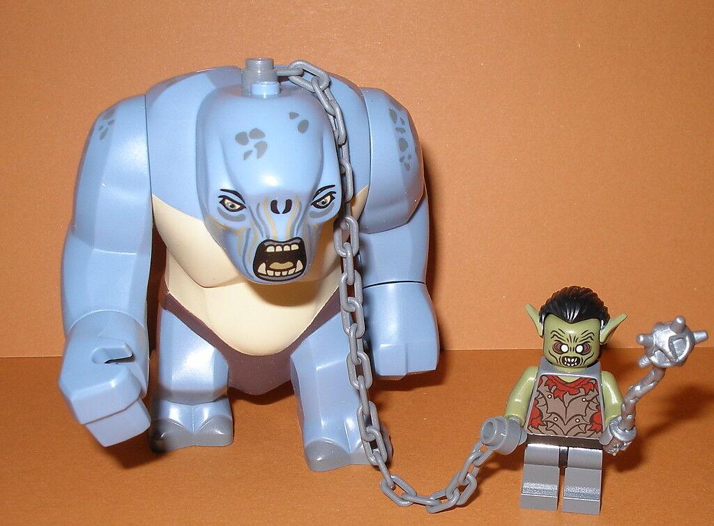LEGO Signore degli Anelli Orco moria con stella domani e grotte Troll