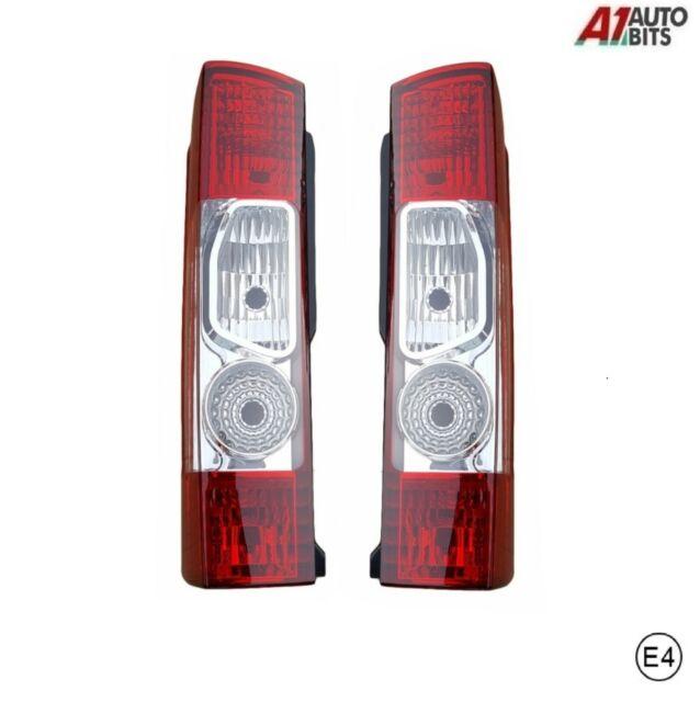 *Peugeot Boxer Rear Tail Light Lamp Lens LH /& RH With Fog /& Reverse BP90-101//102