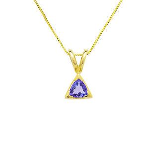14k-Yellow-Gold-Tanzanite-Drop-Pendant-Necklace-16-Inch-Chain